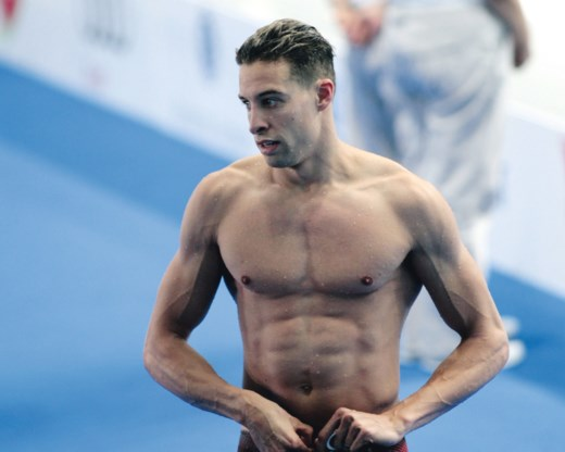 Pieter Timmers verbetert Belgisch record en wordt daarna zevende in EK-finale 50m vrij