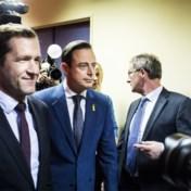 Paul Magnette op bezoek bij Bart De Wever voor overleg