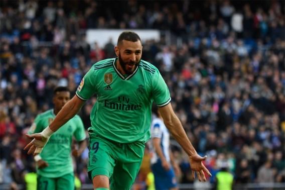 Thibaut Courtois opnieuw tussen de palen bij Real Madrid, dat tegen Espanyol vierde competitiezege op rij boekt