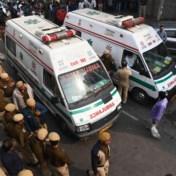 Slapende werknemers komen om bij fabrieksbrand in India