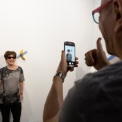 Is een muur-banaan echt kunst?