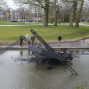 Lichtinstallatie bezwijkt in Brugge onder felle rukwinden