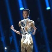 Kort haar en een duidelijke boodschap: Miss Universe heeft een missie
