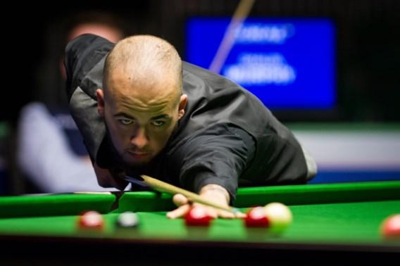 Luca Brecel strandt al in eerste ronde Scottish Open snooker