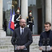 Macron wil na Britse verkiezingen 'snel vooruit met de Brexit'