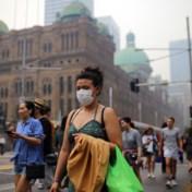 Sydney gehuld in dikke rook: luchtkwaliteit zeer slecht