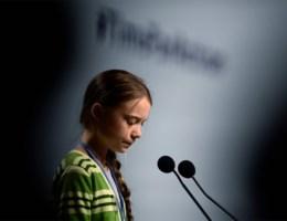Greta Thunberg: 'Het echte gevaar is creatieve pr'