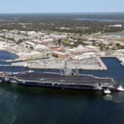 Amerikaanse marine schort vliegopleiding voor Saudi's op