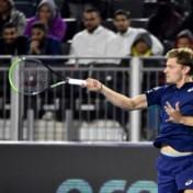 David Goffin wint vlot openingswedstrijd in Saoedi-Arabië en plaatst zich voor halve finale Diriyah Tennis Cup