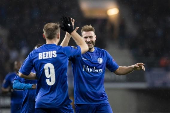 Bibberend naar groepswinst: AA Gent dommelt in na rust, maar haalt het van Oleksandria met 2-1