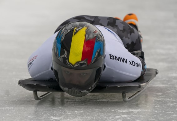 Kim Meylemans achtste in tweede manche van WB skeleton