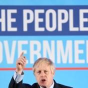 Boris Johnson viert overwinning: 'Nu eindelijk Brexit tot goed einde brengen'