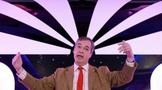 Brexit Party van Nigel Farage haalt wellicht geen zetels