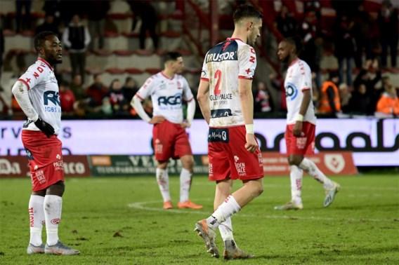 Kortrijk verliest met 1-2 van Moeskroen en zakt verder weg