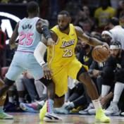 LA Lakers bezorgen Miami eerste thuisverlies in NBA