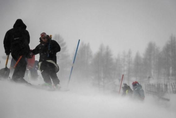 Wereldbekermanche slalom in Val d'Isère wordt geannuleerd door de wind en vervangt zondag reuzenslalom