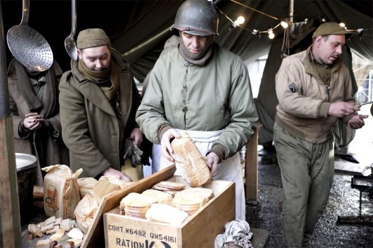 Nancy Pelosi in Bastenaken voor herdenking 75 jaar Ardennenoffensief
