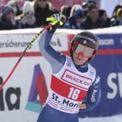 Italiaanse Sofia Goggia wint wereldbekermanche Super-G in Sankt Moritz