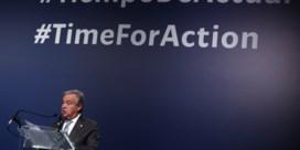 VN-topman Guterres: 'teleurgesteld over resultaten klimaattop'