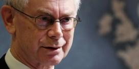 Herman Van Rompuy over formatie: 'De Wever ademt machteloosheid uit'