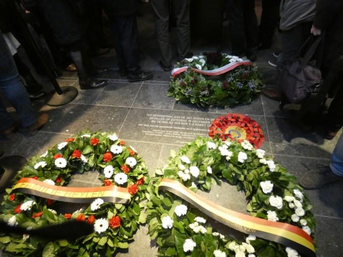 Antwerpen herdenkt doden van bom op Cinema Rex
