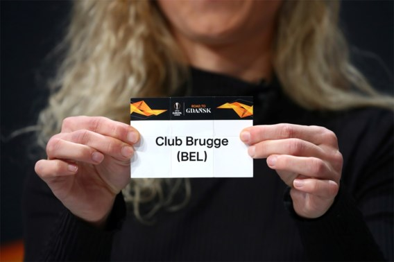 Europa League: Club Brugge treft Manchester United, AA Gent speelt tegen AS Roma