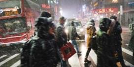 Timelapse toont hoe New York verdwijnt in sneeuwwolk