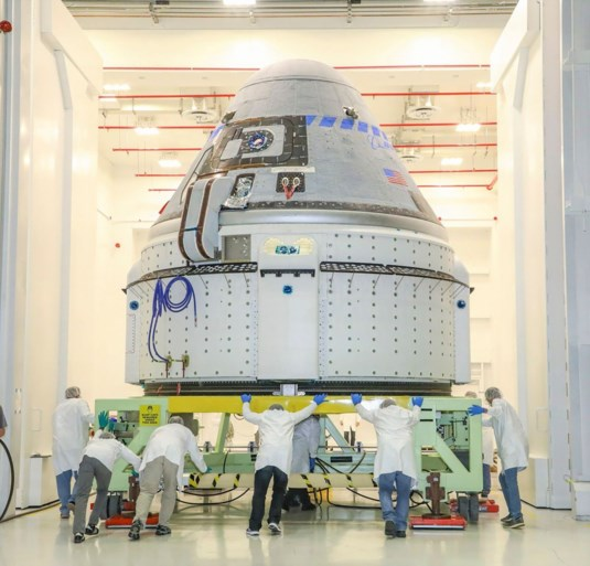 Eerste testvlucht nieuwe ruimtecapsule Boeing noodgedwongen ingekort
