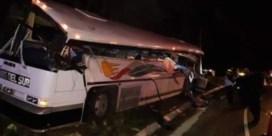 Minstens 17 doden bij botsing tussen vrachtwagen en bus in Guatemala