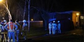Man overleden bij brand in Ieper, brandweerman gewond