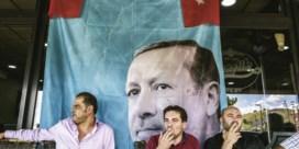 Ook hier verdeelt de Turkse president zijn volk