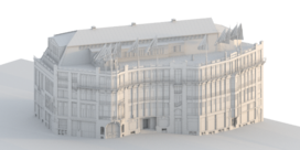 Volkshuis van Horta gereconstrueerd