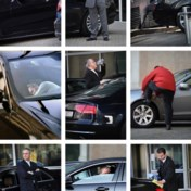 Maandelijks rijdt vrijwel lege autocolonne naar Straatsburg