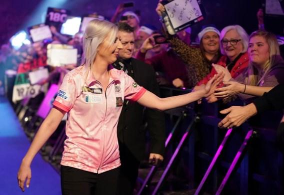Stuntvrouw Fallon Sherrock slaat komende WK darts voor vrouwen over