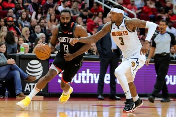 NBA. Boston wint tegen Charlotte, Houston legt Denver over de knie