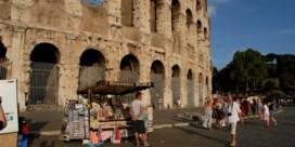 Toeristen kunnen geen souvenirs meer kopen naast monumenten in Rome