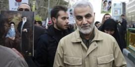 Qassem Soleimani laat een lange frontlijn na