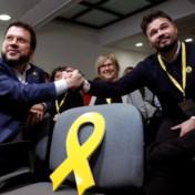 Linkse republikeinse Catalanen steken hun nek uit