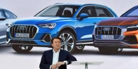 Audi-topman kijkt in glazen bol