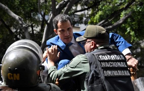 Venezolaanse leger verhindert dat oppositieleider Guaidó kan herkozen worden als parlementsvoorzitter