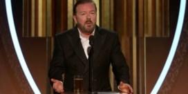 Ricky Gervais haalt stevig uit naar Hollywoodsterren op Golden Globes