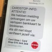 Opgelet: fraudeurs doen zich voor als Card Stop