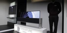 Laat eens een tv en 60.000 dollar verdwijnen