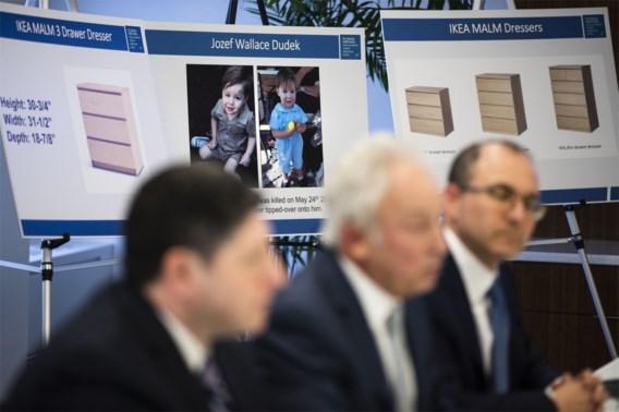 Ikea betaalt ouders van peuter die onder kast terechtkwam 46 miljoen dollar