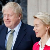Von der Leyen waarschuwt Boris Johnson: 'Negen maanden is te kort om handelsakkoord te sluiten'