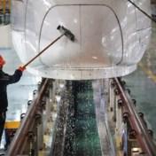 Snelste autonome kogeltrein gelanceerd in China