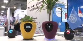 Slimme bloempot weet precies wat je plant nodig heeft