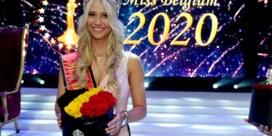 Hoe Miss België 2020 per ongeluk een bh tevoorschijn toverde