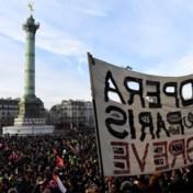 Opnieuw protest tegen pensioenhervorming, Franse regering doet toegeving