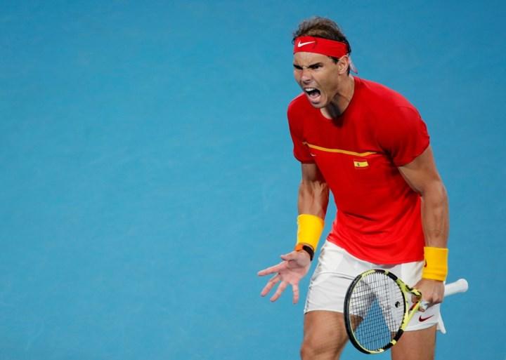 Djokovic sleept Servië voorbij Spanje en Nadal naar winst in eerste ATP Cup